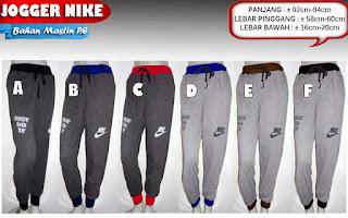 Tampil kekinian dengan celana jogger pants nike untuk pria dan wanita murah