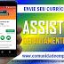 ASSISTENTE DE DEPARTAMENTO PESSOAL REMUNERAÇÃO DE R$ 1400,00