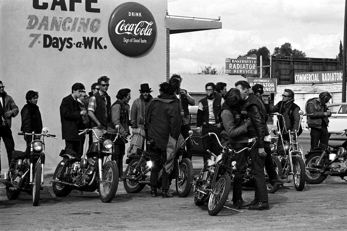 The Original Hells Angels: Amazing Photographs Capture Daily Life of