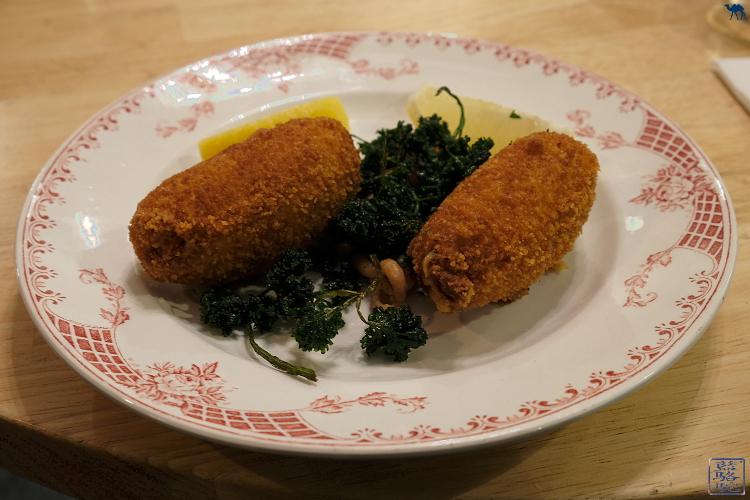 Le Chameau Bleu - Croquette spécialité flamande - Restaurant Gand