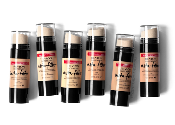 Revlon Photoready Insta-Filter Foundation Review 110 130 150 200 210 220