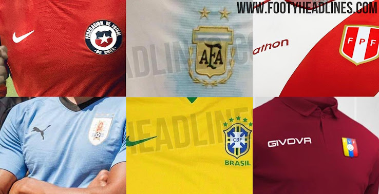 7ad86d54b73 2019 Copa America Kit Overview: All Leaks & Info - Footy Headlines