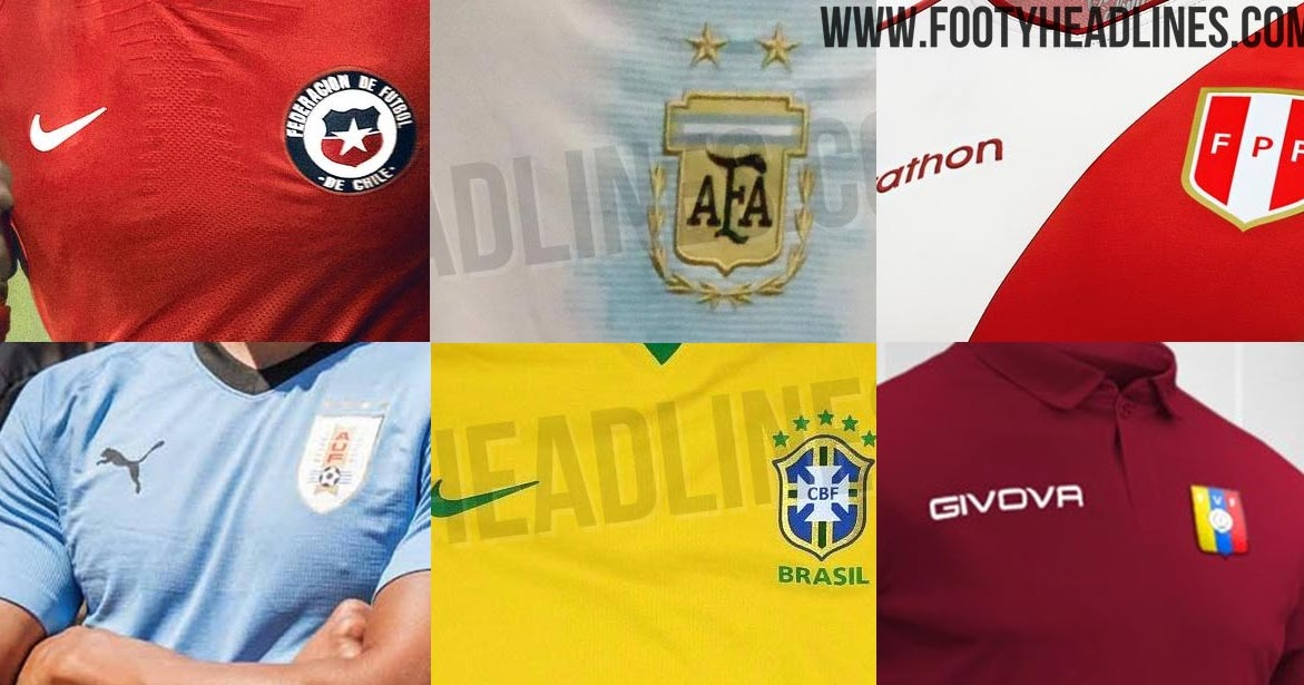 bba96234c89 2019 Copa America Kit Overview  All Leaks   Info - Footy Headlines