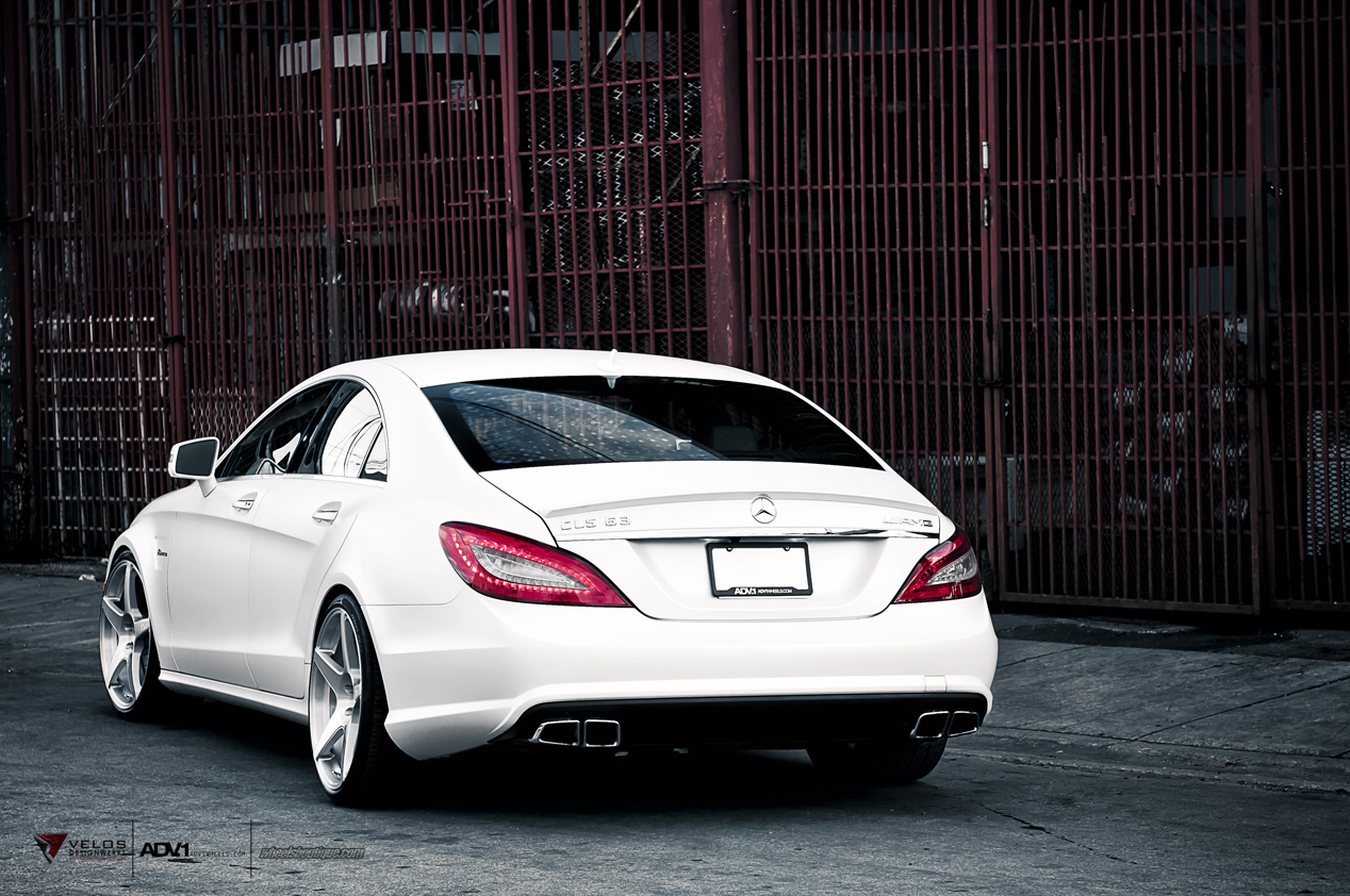 Mercedes Cls63 Amg W218 On Adv1 Wheels Benztuning