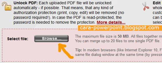 Cara Convert Powerpoint ke PDF