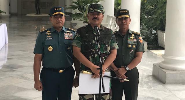 Panglima TNI Instruksikan Selidiki Oknum Paspampres yang Terima Uang Dirjen Hubla