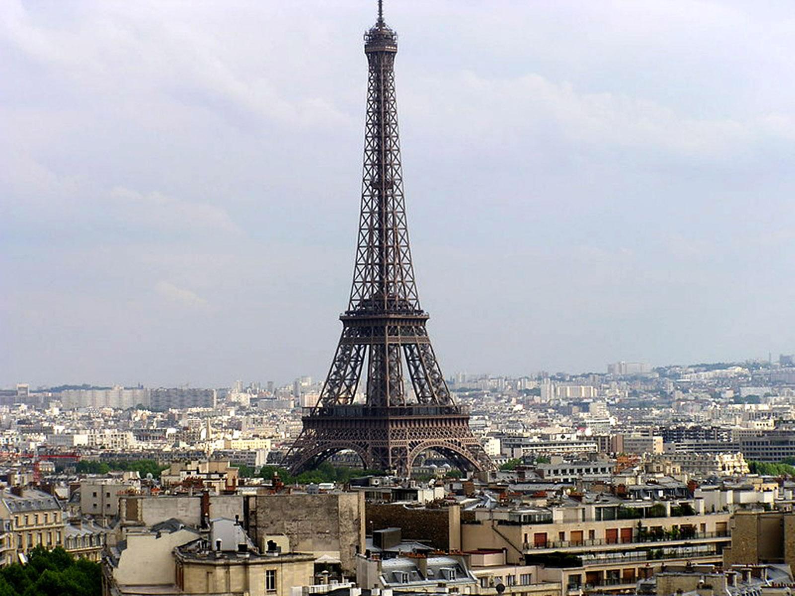 Koleksi Wallpaper Kartun Menara Eiffel Paris