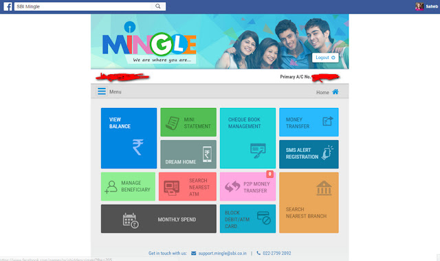 SBI Mingle on Facebook - Tech Lover India
