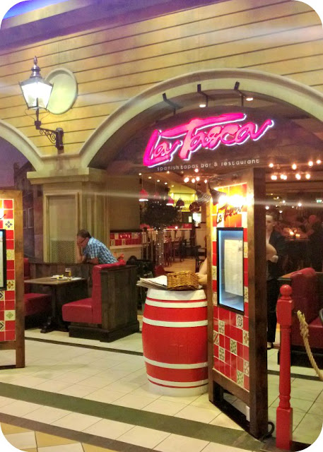 The Entrance to La Tasca Trafford Centre Manchester
