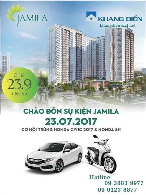 Bán căn hộ Jamila Khang Điền 23-7-2017 Tháp A