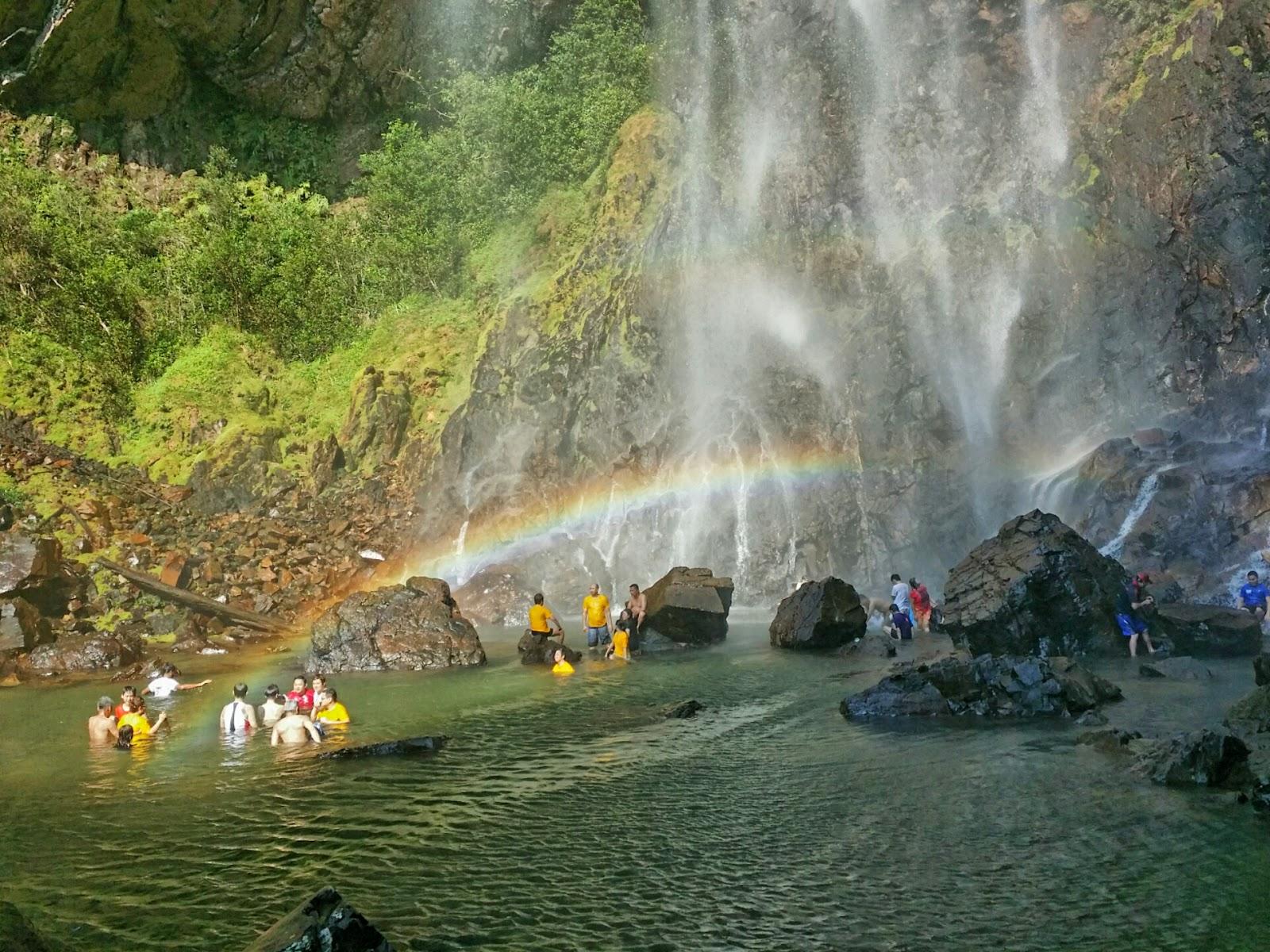 不讓生命留白: 林明彩虹瀑布----關丹旅游景點(5)