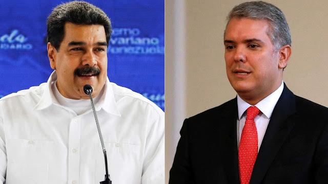 Maduro se encuentra Cara a Cara con Iván Duque  en la toma de pose de López Obrador