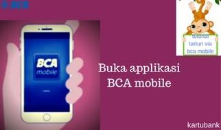 Tarik tunai di atm bank BCA dengan Menggunakan BCA Mobile