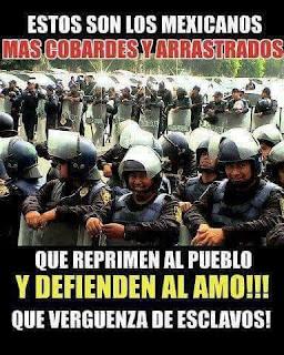 Policías contra el pueblo