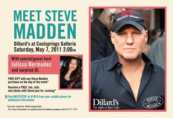 Nashville Fashion Blog Steve Madden At Dillards Coolsprings Meet