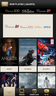 aplikasi, cinema 21, Android, iPhone, Blackberry 10, Windows Phone