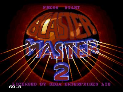 【MD】疾風戰車2原版+血不減,暫停後按C子彈填滿,威力最強Hack版,Blaster Master2 !