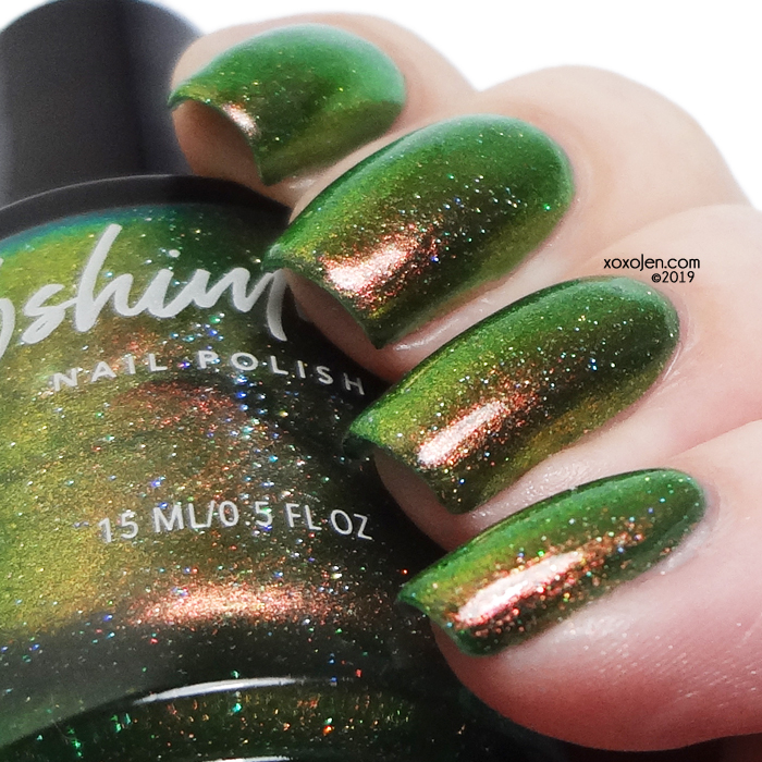 xoxoJen's swatch of kbshimmer Living The Hygge Life