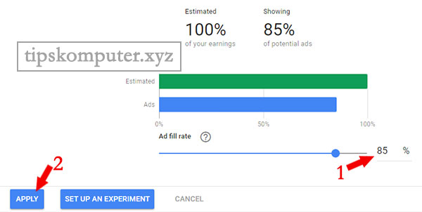 fungsi fitur ad balance pada google adsense