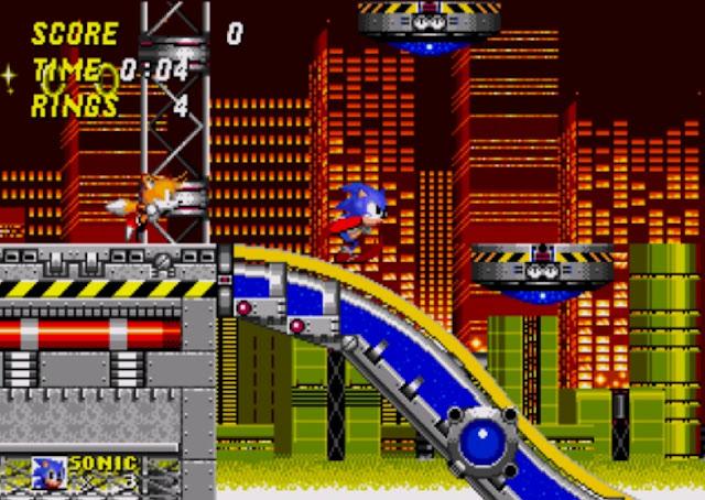 Sonic e Tails Mega Drive