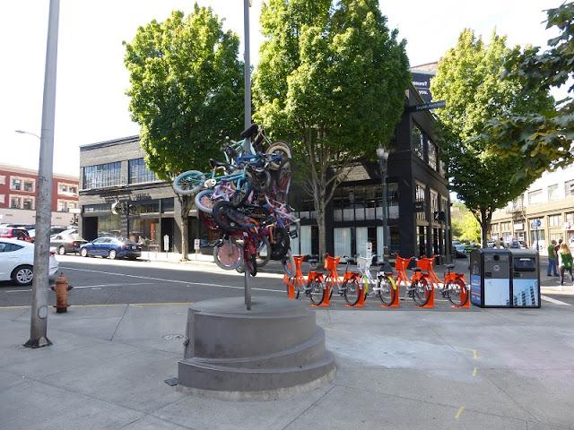 portland bikes pole