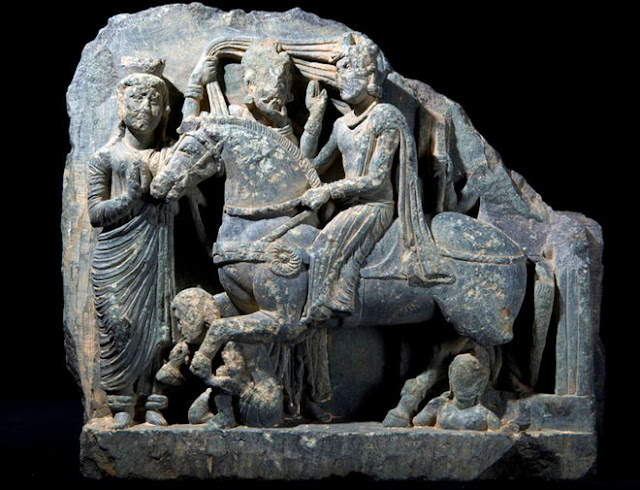 1,700-year-old Buddhist sculptures discovered in ruins of ancient shrine