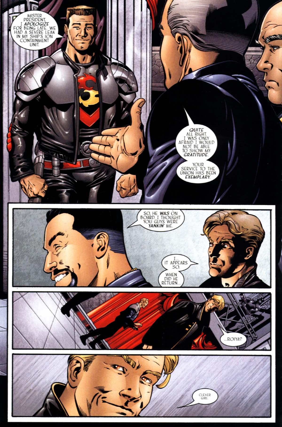 Read online Sigil (2000) comic -  Issue #21 - 18