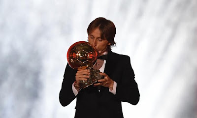 'Small Man' Modric ends Ronaldo, Messi dominance as he wins Ballon d'Or