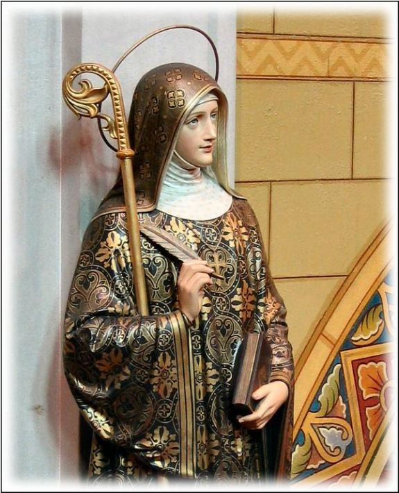 SEPTEMBER 17 - SAINT HILDEGARD OF BINGEN