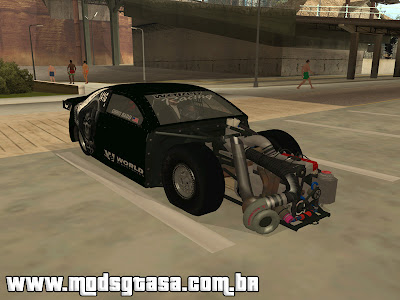 Scion tC Drag para grand theft auto
