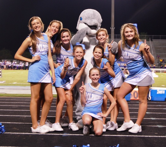 Gulf Shores Middle School Cheerleaders