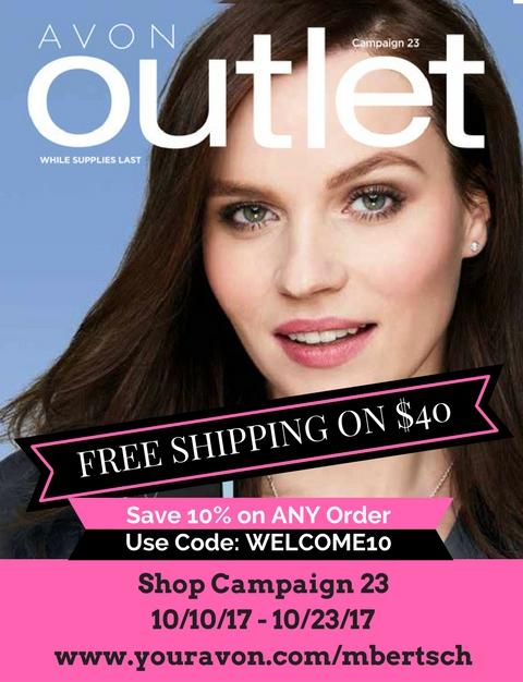 Avon Outlet Sales October 2017