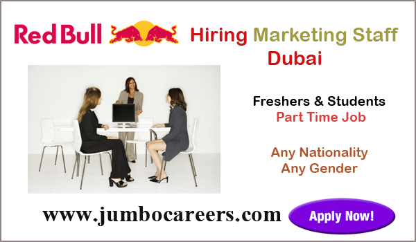 Part time job vacancies in Dubai for Indians, Show all job details,
