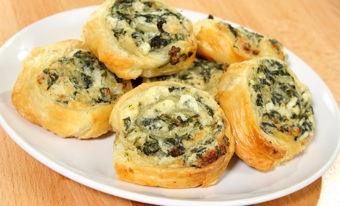 Creamy Spinach Roll Up Bites #snack #healthy