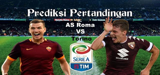 Prediksi Pertandingan AS Roma vs Torino 20 Februari 2017