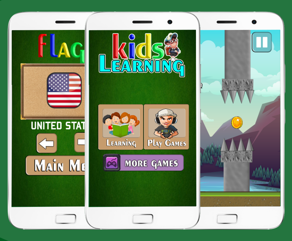 LEARNING KIDS - FULL EDUCATIONAL GAME FOR KIDS ( ANDROID STUDIO + ADMOB) - 3