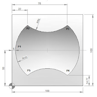CNC Programming Examples - Peck Drilling-Mill
