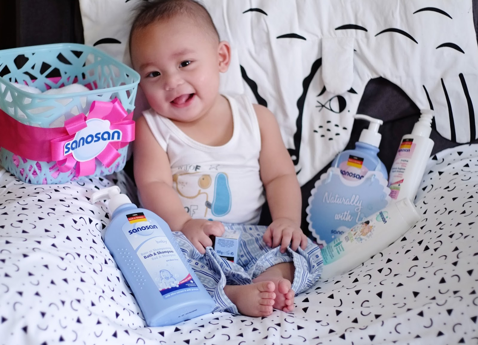 Tips on How to Make Baby Bath Time Fun with Sanosan + How ...