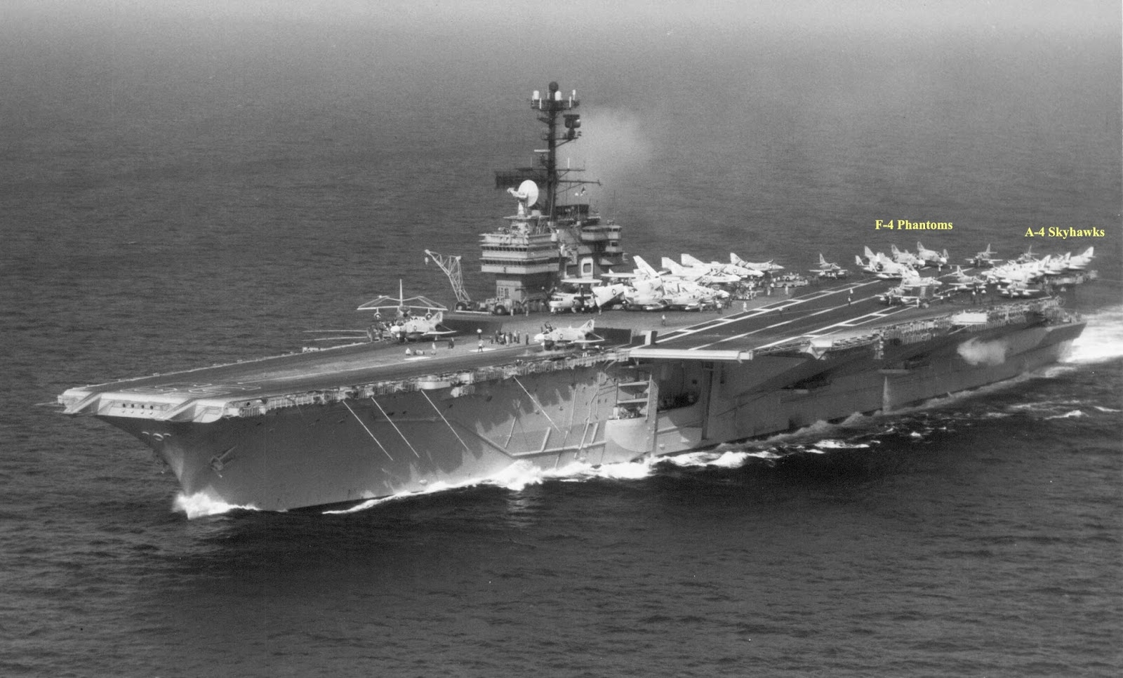 US NAVY FACT FILE Aircraft Carriers CVA-59 USS Forrestal