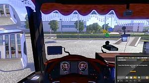 Scania Red Interior - version 1.4.12