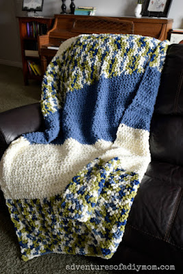 easy crochet blanket