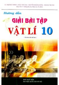 Hướng Dẫn Giải Bài Tập Vật Lý 10 - Vũ Thị Minh Phát