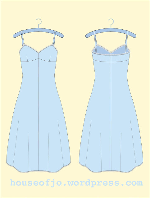 Free 1940's Sewing Pattern - Full Under Slip