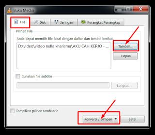 Cara Convert File Video Menjadi Mp3 Dengan VLC Media Player