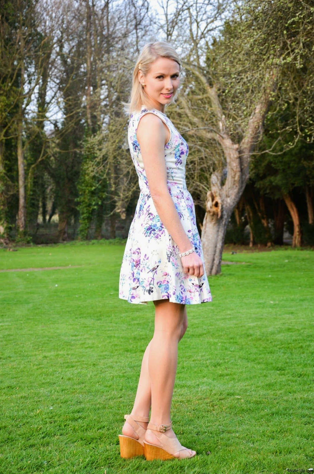 Outfit Post: The Darling Wedding Guest Dress