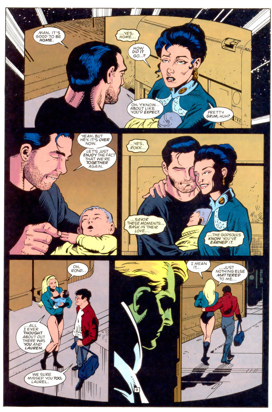 Legion of Super-Heroes (1989) 50 Page 9