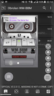 BBM Mod Manual Ala WM V3.2.5.12 Apk