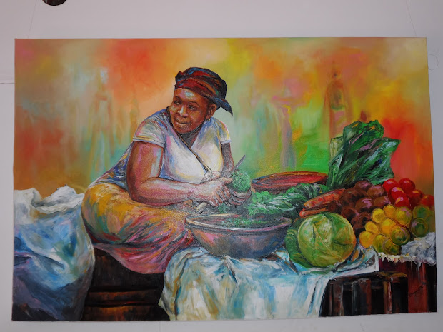 Margaretta' Jua Kali Diary Banana Hill Art Expands Vision Cover East