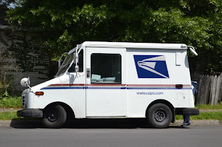 Image: USPS Mail Truck