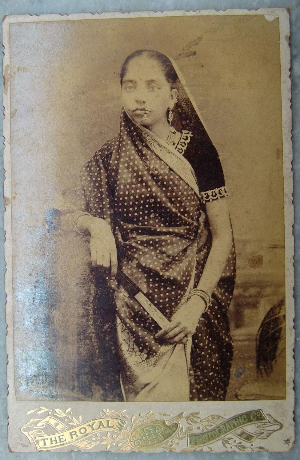 Portrait of a Bengali Lady